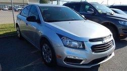 2015 Chevrolet Cruze L Manual