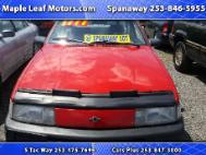 1993 Chevrolet Cavalier VL coupe