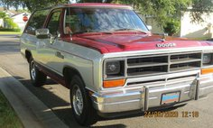 1988 Dodge Ramcharger 150