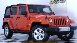 2015 Jeep Wrangler Sahara