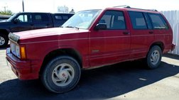 1992 Oldsmobile Bravada Base