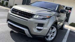 2012 Land Rover Range Rover Evoque Coupe Dynamic