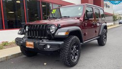 2021 Jeep Wrangler Unlimited Willys Sport