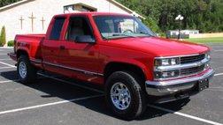 1998 Chevrolet C/K 1500 Ext Cab 141.5