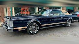 1978 Lincoln Continental Mark V 460ci Bill Blass Designer series