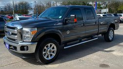 2015 Ford F-350 Lariat Crew Cab Long Bed 4WD