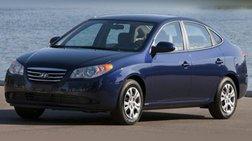 2010 Hyundai Elantra Blue