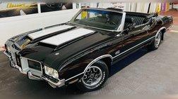 1971 Oldsmobile - CONVERTIBLE - TRIPLE BLACK - NUMBERS MATCHING -