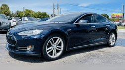 2014 Tesla Model S Sedan 4D