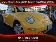 2000 Volkswagen New Beetle GLS 1.8T