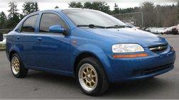 2004 Chevrolet Aveo 4dr Sdn SVM
