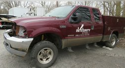 2004 Ford F-250 CHASSIS 4X4 EXCAB SHORT WHEELBASE