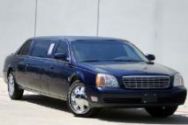 2001 Cadillac DeVille Limousine * ONLY 30k MILES * Chrome Wheels * NICE!