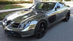 2006 Mercedes-Benz SLR MCLAREN Black Chrome Wrap, Mint Condition!