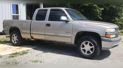 2002 Chevrolet Silverado 1500 4dr Ext Cab 143.5