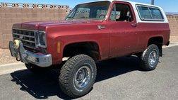 1977 Chevrolet Blazer Cheyenne