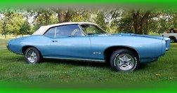 1969 Pontiac GTO Convertible Original Numbers Matching