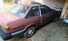 1987 Toyota Corolla SR5 Sport
