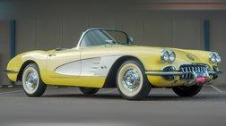 1958 Chevrolet Corvette C1 - Dual Quad - 4-Speed - Panama Yellow