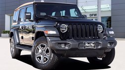 2020 Jeep Wrangler Unlimited Black and Tan