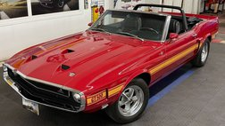 1969 Ford Mustang - SHELBY GT 500 - CONVERTIBLE - 4 SPEED - SEE VIDE