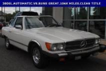 1981 Mercedes-Benz 380-Class 380 SL