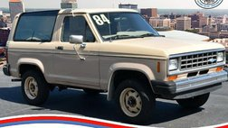 1984 Ford Bronco II TMU - Odometer-exceeds mechanical a