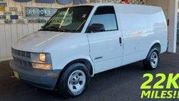 2002 Chevrolet Astro Cargo Van Base