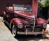 1939 Plymouth Rumble seat coupe