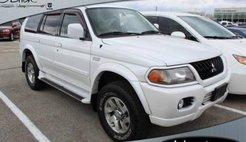 2003 Mitsubishi Montero Sport Limited