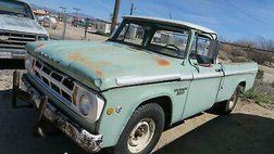 1968 Dodge  D200 Project truck! CA TRUCK! 318 V8!!