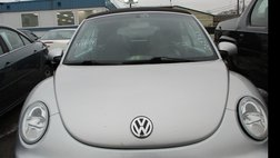 2003 Volkswagen New Beetle 2dr Convertible GLX Turbo Auto