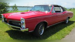 1967 Pontiac GTO rustfree number matching 4-sp convertible