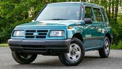 1997 Geo Tracker 4x4 4WD 5 Speed Manual 4Dr Video 88K mi CARFAX