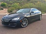 2013 BMW 6 Series 650i Gran Coupe