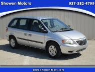2003 Chrysler Voyager LX Value