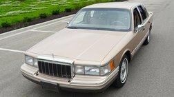 1992 Lincoln Town Car Cartier