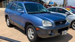2001 Hyundai Santa Fe 4dr LX 4WD Auto 3.5L V6