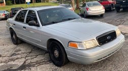 2008 Ford Crown Victoria Commercial Base Fleet SWB
