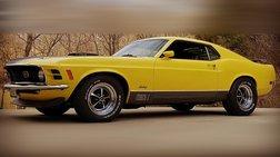 1970 Ford Mustang -MACH 1 -R CODE 428 COBRA JET- 77,000 ACTUAL MILES