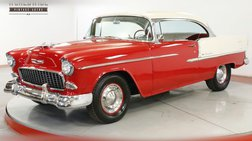 1955 Chevrolet  BEAUTIFUL TWO TONE PAINT V8 NO POST GARAGED