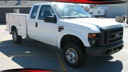 2008 Ford XL, X-CAB, 4X4, Utility Bed, 6.4 8cyl. Diesel