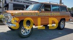 1972 Jeep Grand Wagoneer WAGONEER - (COLLECTOR SERIES)