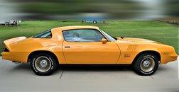 1978 Chevrolet Camaro Z28 355 cross ram 4 speed AC Yellow Orange