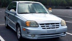 2004 Hyundai Accent 3dr HB Cpe GT Auto