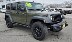 2016 Jeep Wrangler Unlimited Willys Wheeler