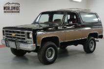 1979 Chevrolet Blazer ONE OWNER! HEAVILY OPTIONED CONVERTIBLE 4x4