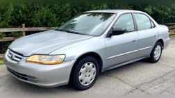 2002 Honda Accord Value Package