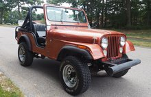 1976 Jeep CJ-5 4WD