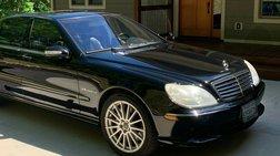 2006 Mercedes-Benz S-Class S 55 AMG